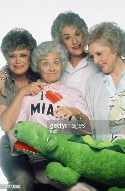 Rue McClanahan as Blanche Devereaux Estelle Getty as Sophia Petrillo Bea Arthur as Dorothy Petrillo Zbornak Betty White as Rose Nylund Photo by NBCU...