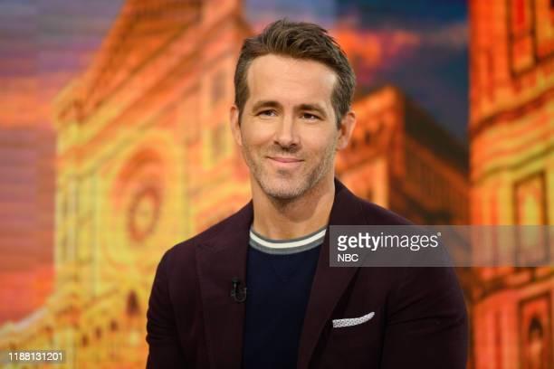 Ryan Reynolds on Thursday, December 12, 2019 --