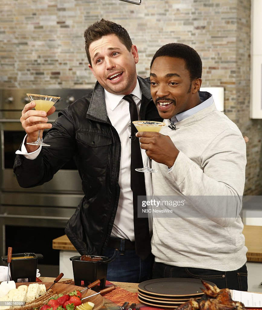 Ryan Scott and Anthony Mackie appear on NBC News' 'Today' show --