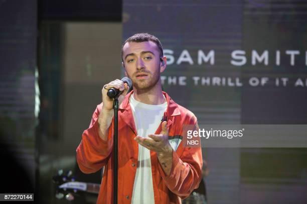 Sam Smith on Wednesday November 8 2017