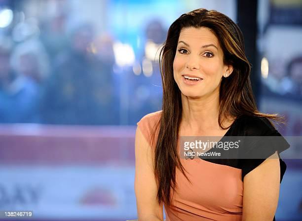 "Sandra Bullock appears on NBC News' ""Today"" show"