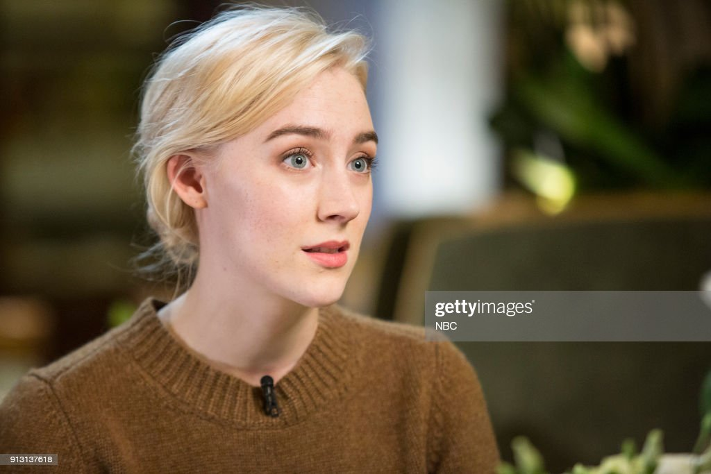 "NBC's ""Sunday TODAY with Willie Geist"" With guest Saoirse Ronan"