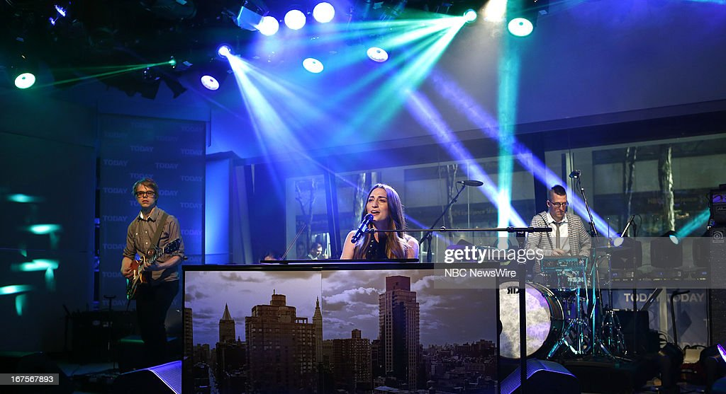 Sara Bareilles appears on NBC News' 'Today' show --