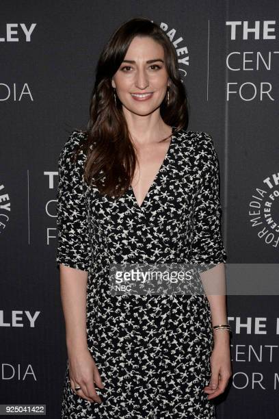 Sara Bareilles at the Paley Center for Media in New York on Monday February 26 2018