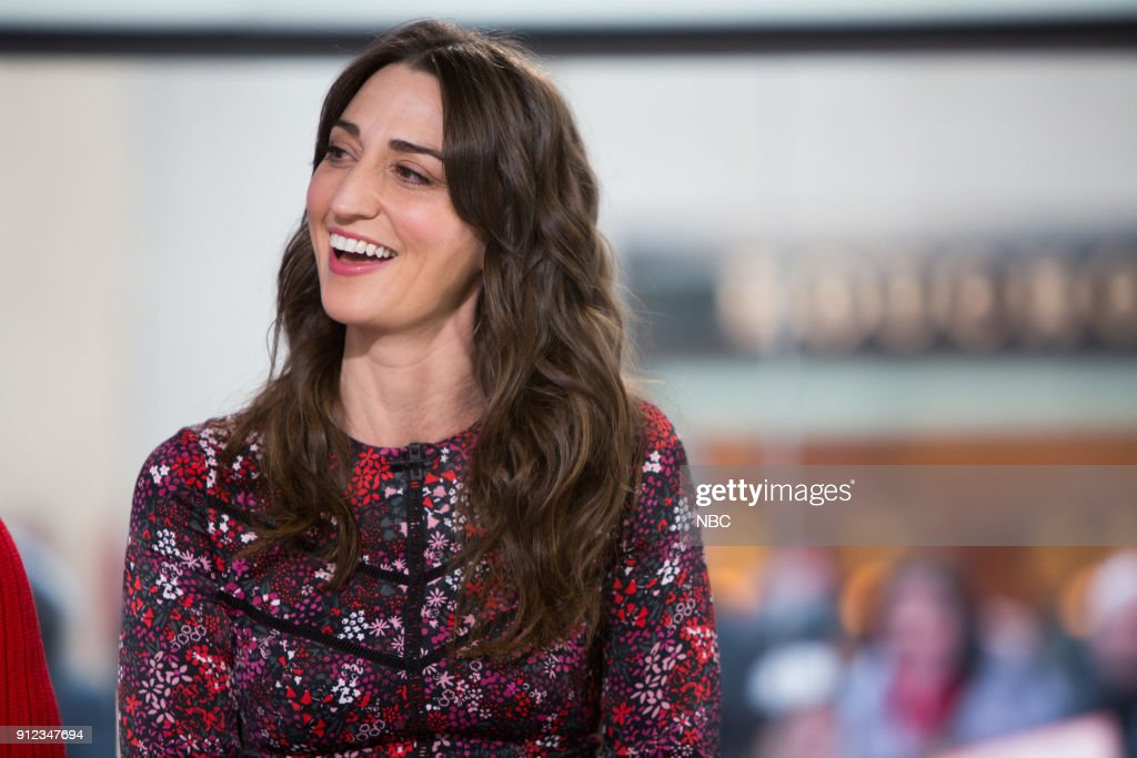 Sara Bareilles on Friday, Jan. 26, 2018 --
