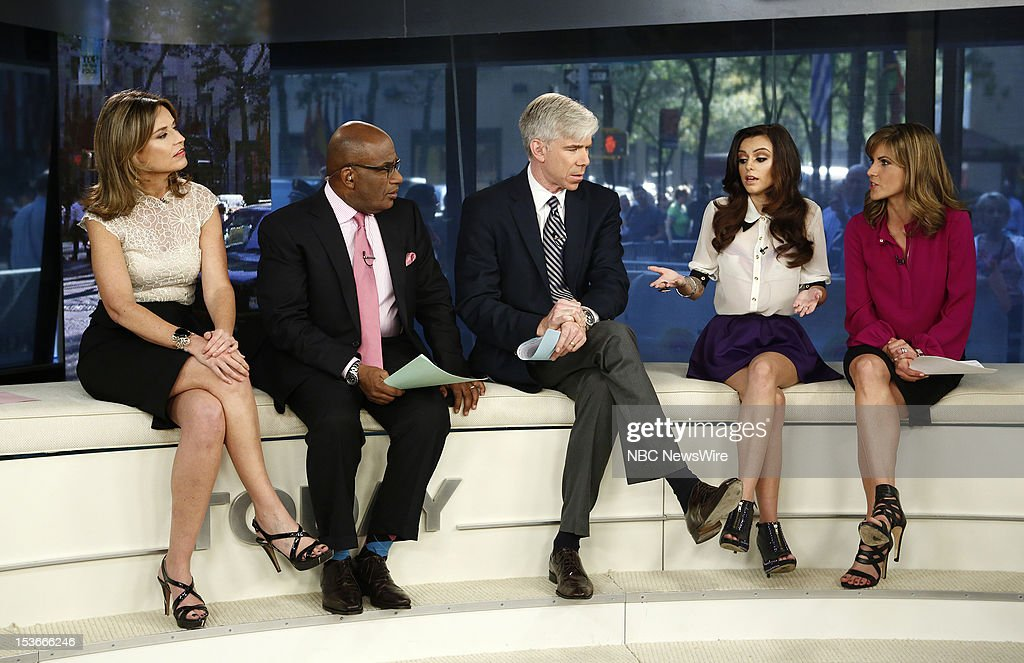 """NBC's """"Today"""" With Guests Molly Sims, Cher Lloyd"""