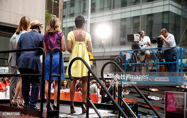 Savannah Guthrie Al Roker Natalie Morales and Tamron Hall appear on NBC News' 'Today' show