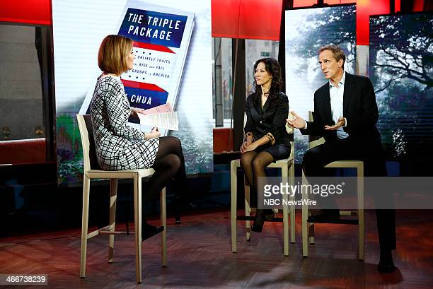 Savannah Guthrie Amy Chua and Jed Rubenfeld appear on NBC News' 'Today' show