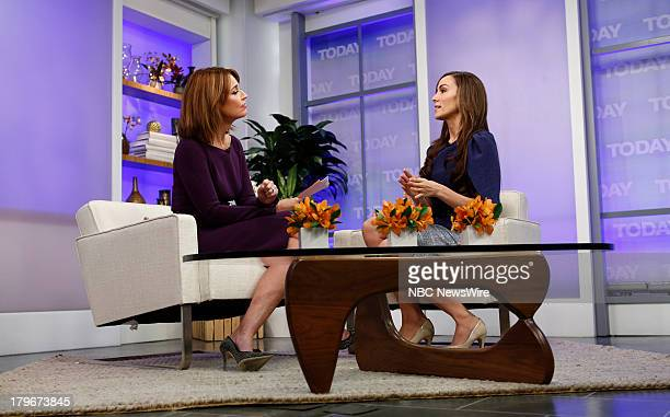 Savannah Guthrie and Amanda Lindhout appear on NBC News' 'Today' show