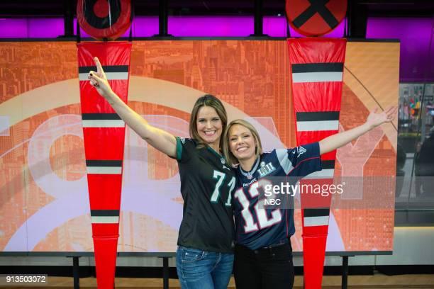 Savannah Guthrie and Dylan Dreyer on Friday Feb 2 2018