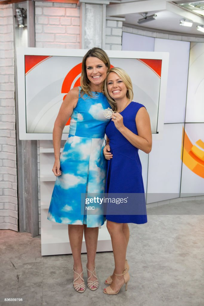 Savannah Guthrie and Dylan Dreyer on Monday, August 21, 2017 --