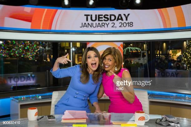 Savannah Guthrie and Hoda Kotb on Tuesday January 2 2018