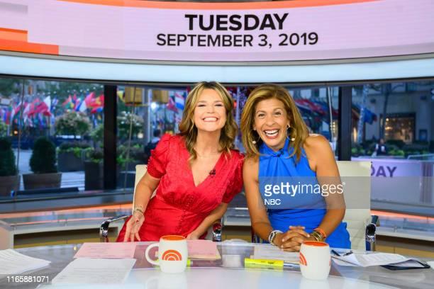 Savannah Guthrie and Hoda Kotb on Tuesday September 3 2019