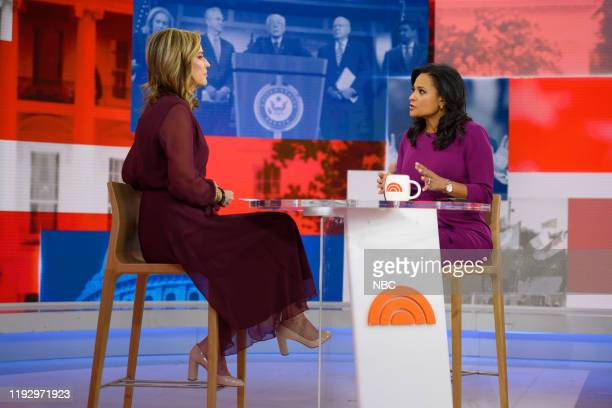Savannah Guthrie and Kristen Welker on Friday January 10 2020