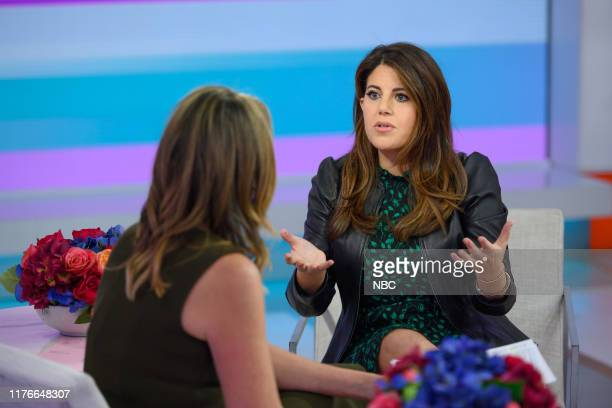 Savannah Guthrie and Monica Lewinsky on Wednesday October 16 2019