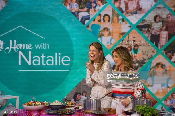 Savannah Guthrie and Natalie Morales on Monday April 16 2018