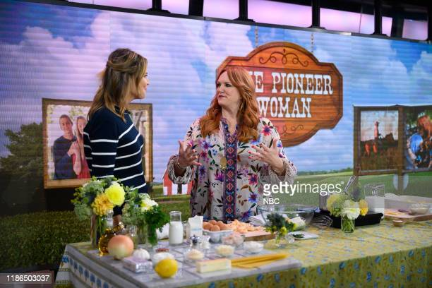 Savannah Guthrie and Ree Drummond on Tuesday, October 22, 2019 --
