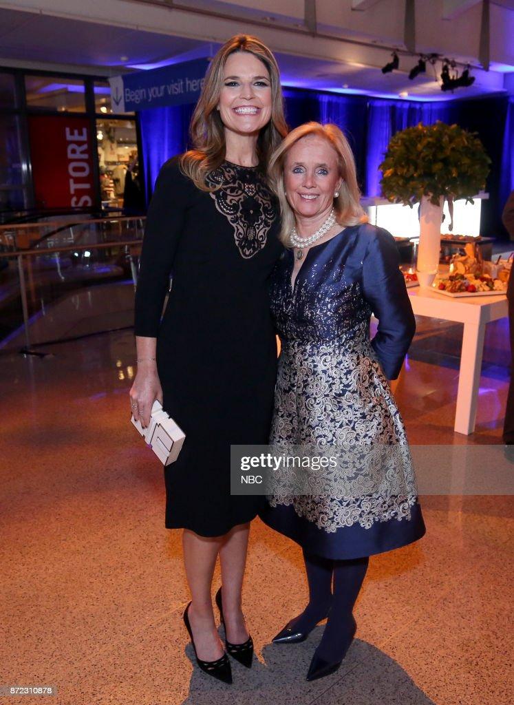 Savannah Guthrie And Rep Debbie Dingell Toast Nbc News Meet The News Photo Getty Images