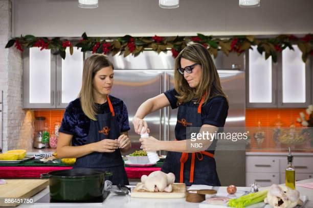 Savannah Guthrie and Siri Daly on Monday December 4 2017