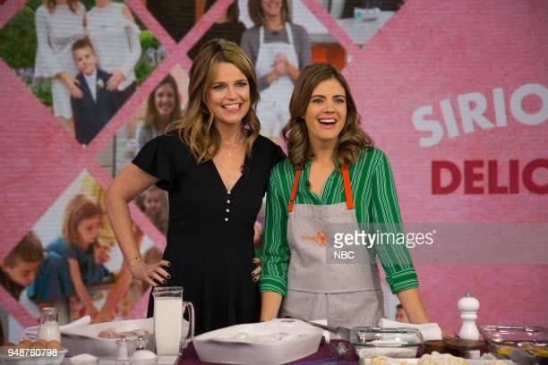 Savannah Guthrie and Siri Daly on Thursday April 19 2018