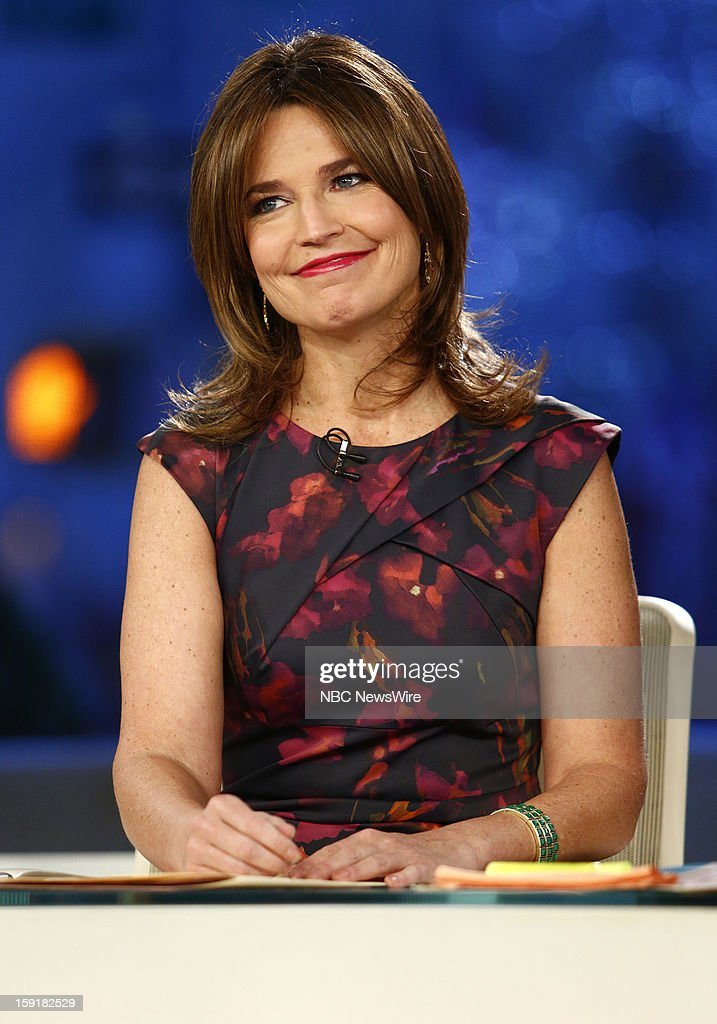 Savannah Guthrie appears on NBC News' 'Today' show --