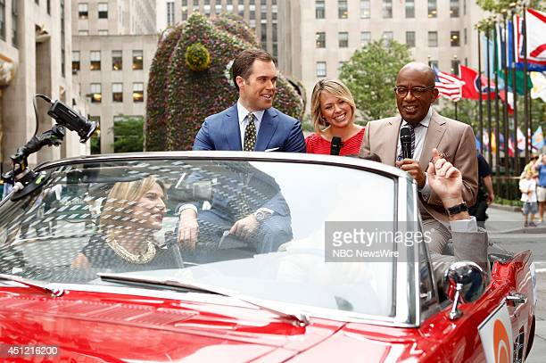 Savannah Guthrie Carson Daly Peter Alexander Dylan Dreyer and Al Roker appear on NBC News' Today show
