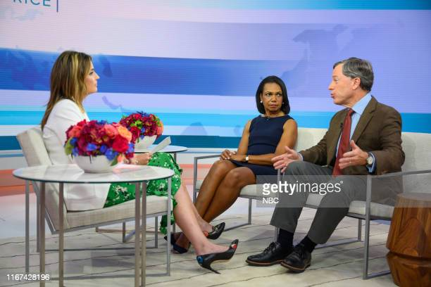 Savannah Guthrie Condoleeza Rice and Philip Zelikow on Wednesday September 11 2019