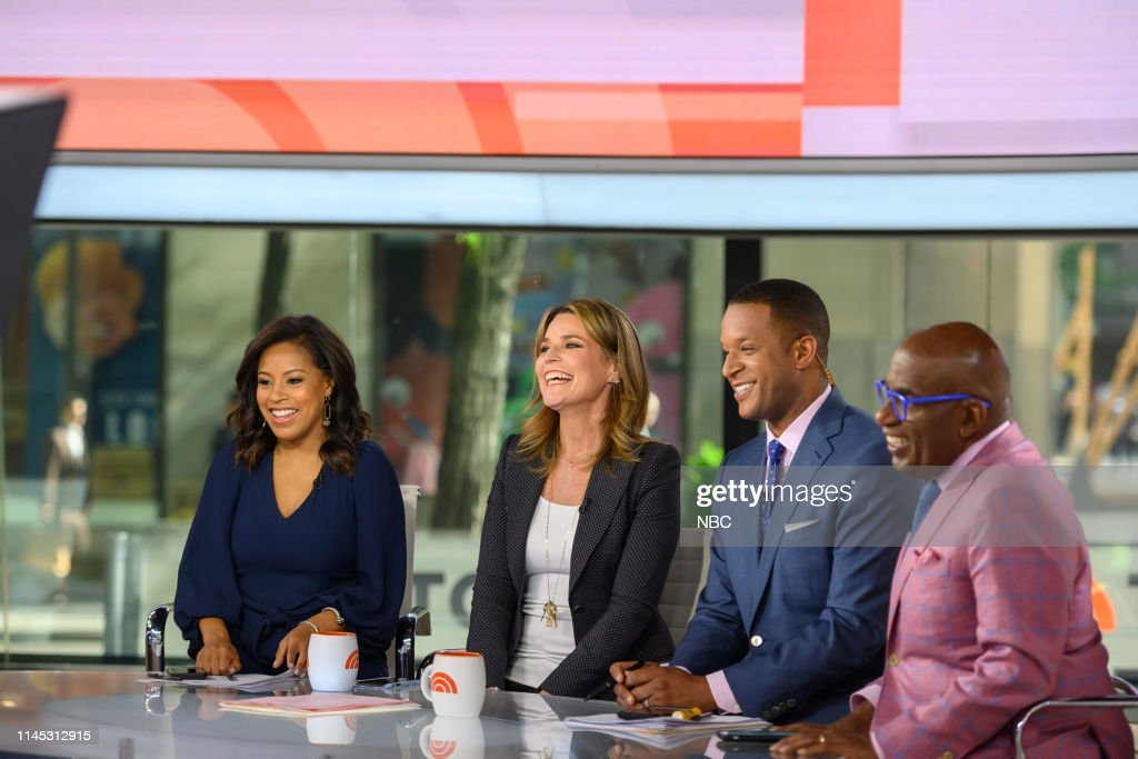 "NY: NBC's ""TODAY"" - Joy Bauer, Jackie London, Dan Slepian, John Torres, Asia Kate Dillon"