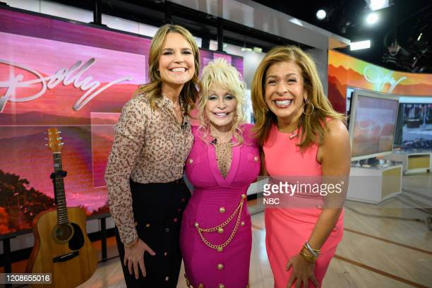 Savannah Guthrie Dolly Parton and Hoda Kotb on Wednesday November 20 2019