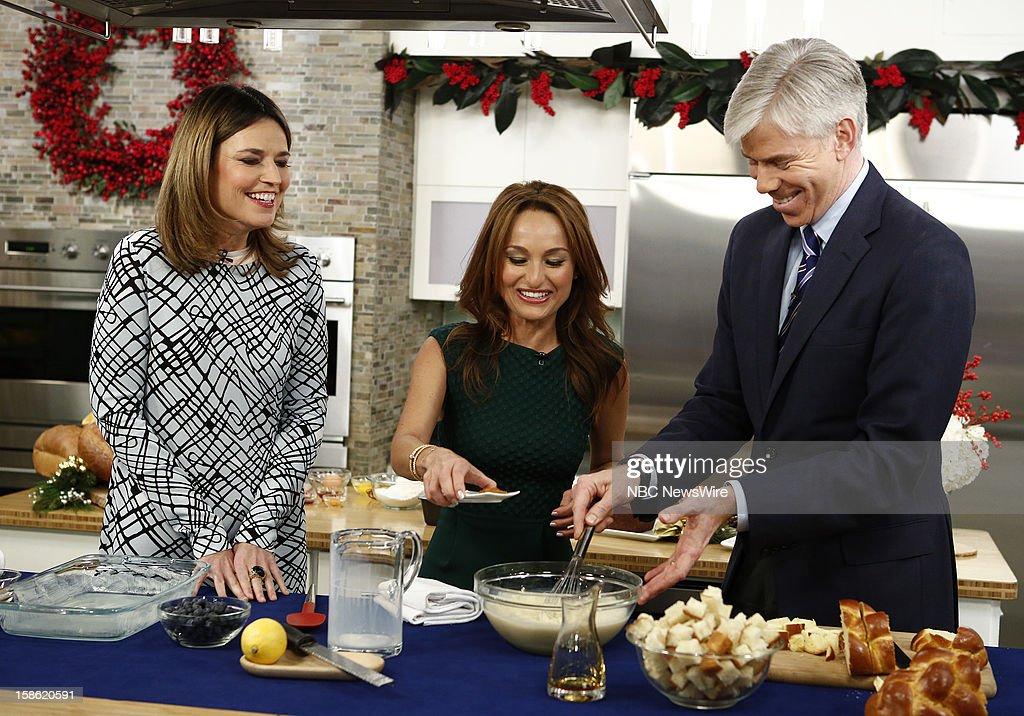 "NBC's ""Today"" With Guests Christina Perri, Giada de Laurentiis"