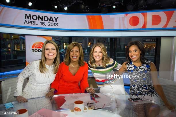 Savannah Guthrie Hoda Kotb Natalie Morales and Sheinelle Jones on Monday April 16 2018