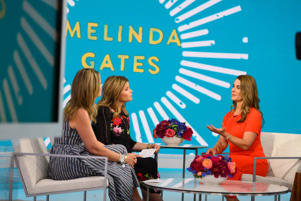 "NY: NBC's ""TODAY"" - Melinda Gates, Gina Torres, Rhiannon Giddens, Yasmin Vossoughian, Laura Vitale, Natalie Coughlin"