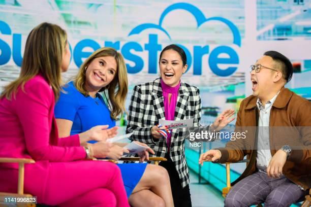 Savannah Guthrie Jenna Bush Hager Donna Farizan and Nico Santos on Monday May 6 2019