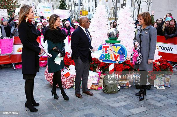 Savannah Guthrie Natalie Morales Al Roker and Cindy Monroe appear on NBC News' Today show