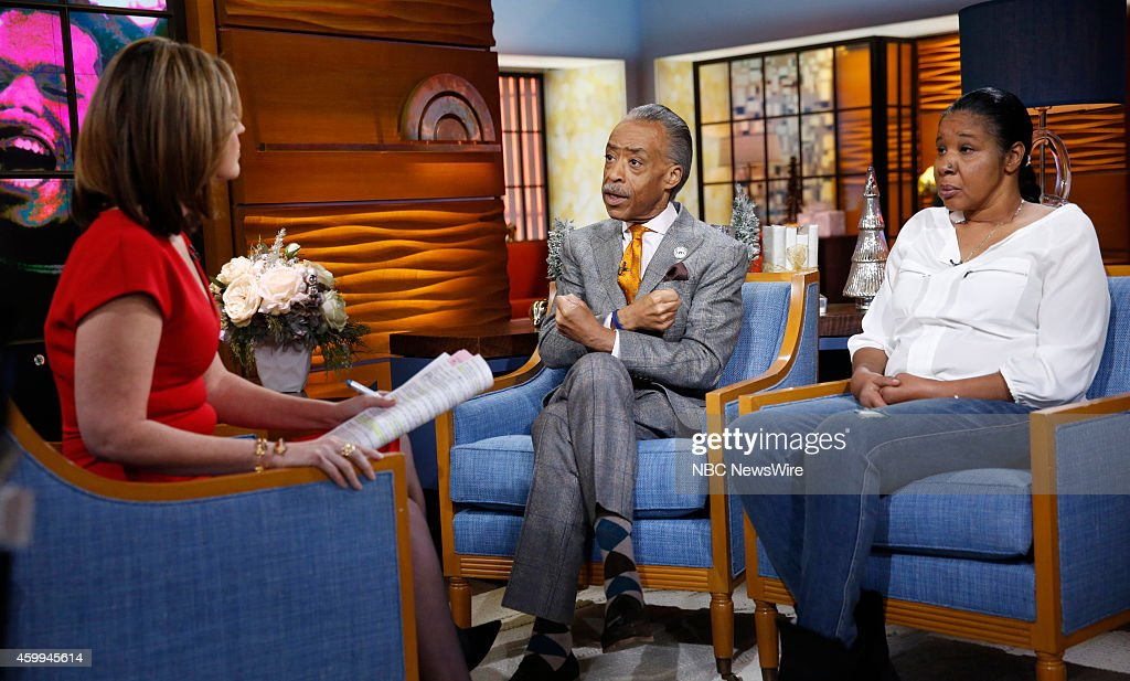 Savannah Guthrie, Rev. Al Sharpton and Esaw Snipes-Garner appear on NBC News' 'Today' show --