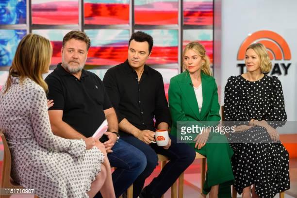 Savannah Guthrie Russell Crowe Seth MacFarlane Sienna Miller and Naomi Watts on Monday June 24 2019