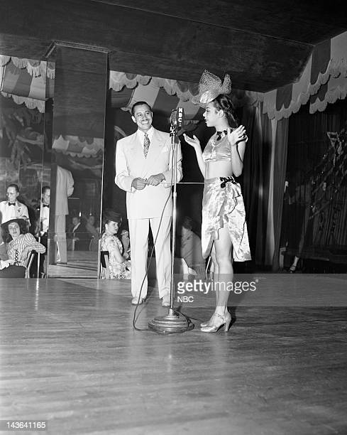 scat musician Cab Calloway in 1945 at The Cafe Zanzibar club in New York NY