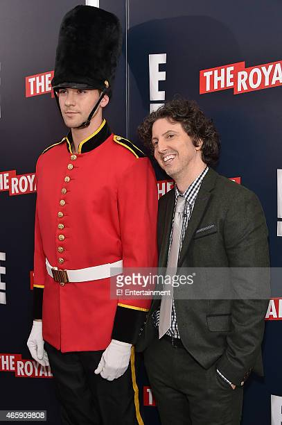Screenwriter Mark Schwahn at The Royals premier party at The Top of The Standard on March 9 2015