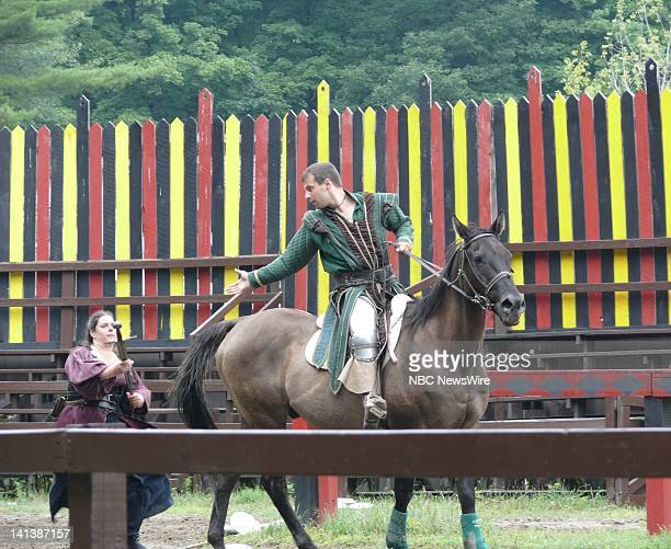 Seth Andrew Bridges As Robin Hood And Karen O'Hara As Favour O'Malley, Pirate -- The New York Renaissance Faire in Tuxedo, NY brings the past to the...