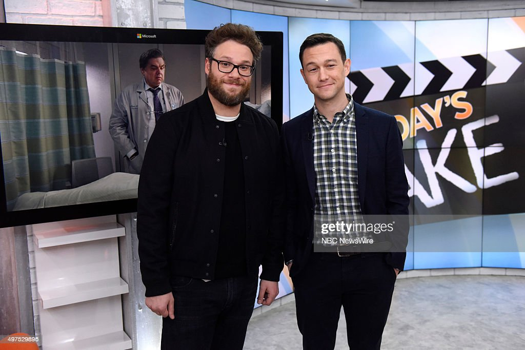 "NBC's ""Today"" With Guests Seth Rogen, Joseph Gordon-Levitt, Oliver Hudson, Oliver Platt, Alfie Boe"