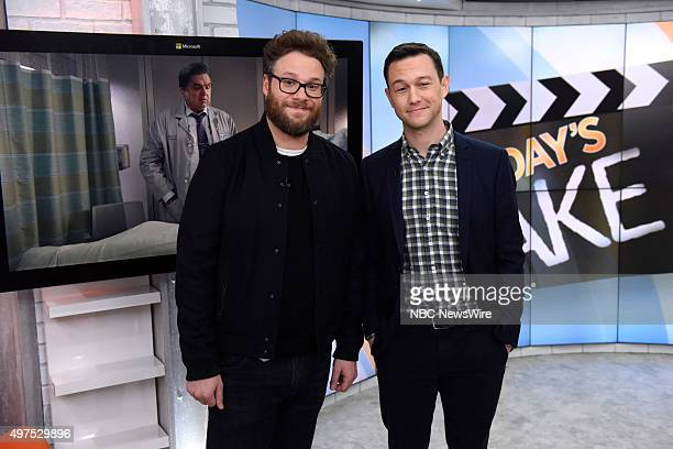 Seth Rogen and Joseph GordonLevitt appear on NBC News' Today show