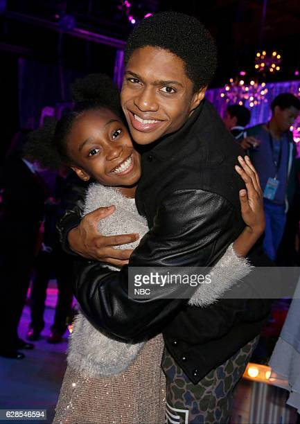Pictured: Shahadi Wright Joseph, Ephraim Sykes --