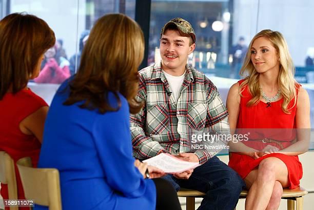 "Shain Gandee and Shae Bradley appear on NBC News' ""Today"" show --"