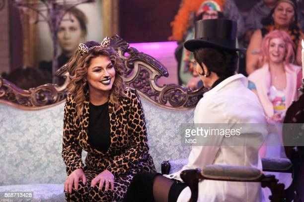 Shania Twain and Megyn Kelly as Shania Twain on Tuesday October 31 2017