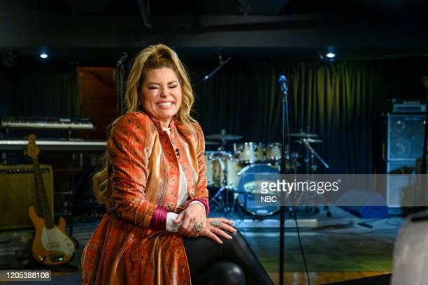Pictured: Shania Twain on Mar. 8, 2020 --