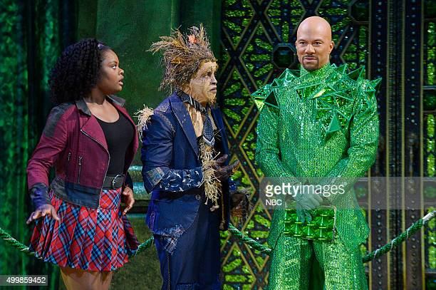Shanice Williams as Dorothy Elijah Kelley as Scarecrow Common as The Bouncer