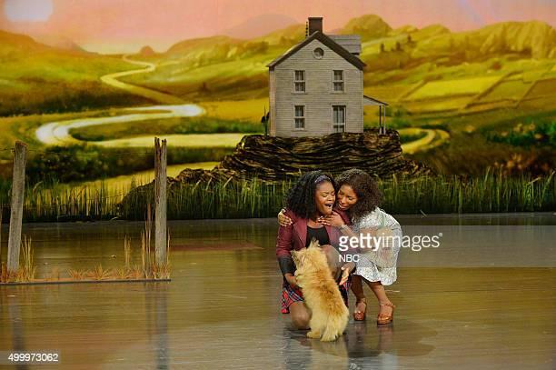 Shanice Williams as Dorothy Stephanie Mills as Auntie Em