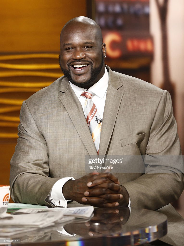 "NBC's ""Today"" With Guests Keri Russell, The Fray, Charlie White and Meryl Davis, Shaquille O'Neal, Mark Burnett"