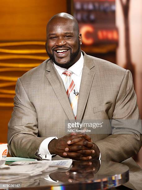 Shaquille O'Neal appears on NBC News' Today show