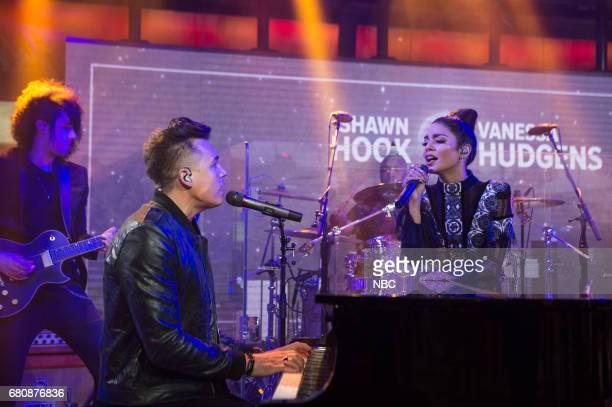Shawn Hook and Vanessa Hudgens on Monday May 8 2017